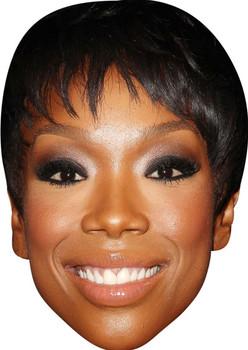Brandy Norwood Celebrity Face Mask Party Mask