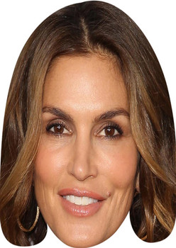 Cindy Crawford Celebrity Face Mask Party Mask