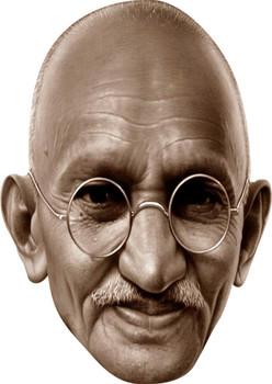Gandhi Celebrity Face Mask Party Mask