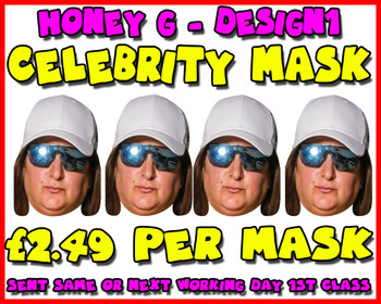 Honey G X Factor Celebrity Party Mask Pack