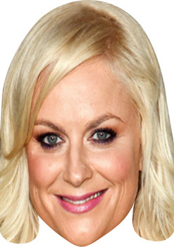 Amy Poehler Comedian Face Mask