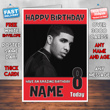 Drake Bm2 Personalised Birthday Card