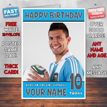Sergio Agureo Bm2 Personalised Birthday Card