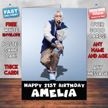 Eminem Birthday Card Personalised Birthday Card