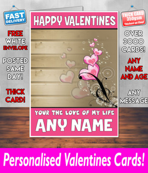 His Or Hers Valentines Day Card KE Design10 Valentines Day Card