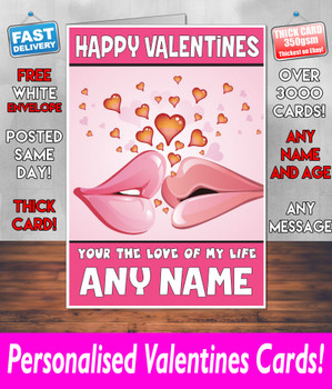 His Or Hers Valentines Day Card KE Design12 Valentines Day Card