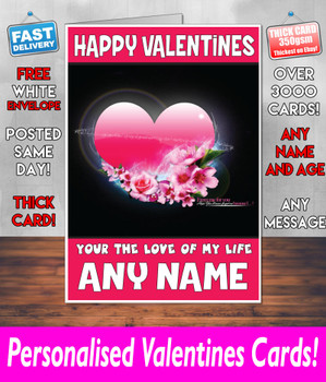 His Or Hers Valentines Day Card KE Design31 Valentines Day Card