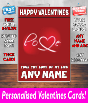 His Or Hers Valentines Day Card KE Design104 Valentines Day Card