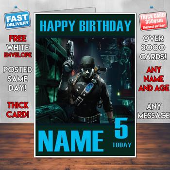 Prey 2017 Personalised Birthday Card