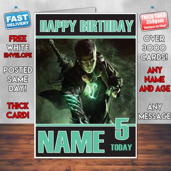 Scalebound 2017 Personalised Birthday Card