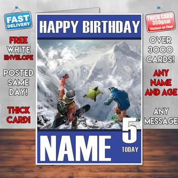 Steep 2018 Personalised Birthday Card