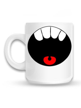 Mouth Open Mug