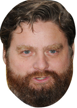Alan The Hangover 2018 Celebrity Face Mask