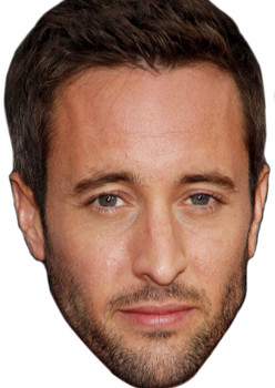 Alex O Loughlin4 2018 Celebrity Face Mask