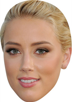 Amber Heard MH 2018 Celebrity Face Mask