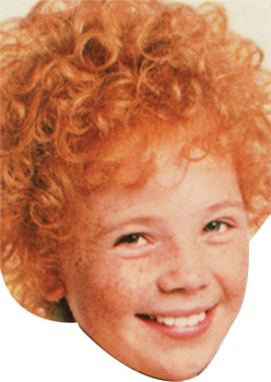 Annie The Musical Celebrity Face Mask