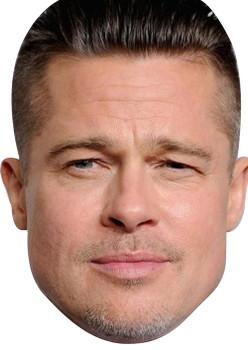 Brad Pitt 2018 Celebrity Face Mask