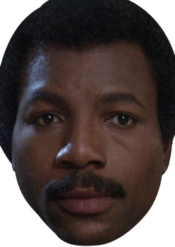 Carl Weathers Celebrity Face Mask