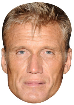 Dolph Lundgren Celebrity Face Mask