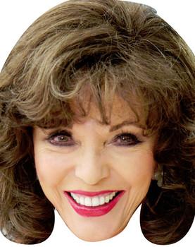 Joan Collins Benidorm Celebrity Face Mask
