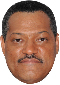 Laurence Fishburne 2008 Mustache1 (1) Celebrity Face Mask