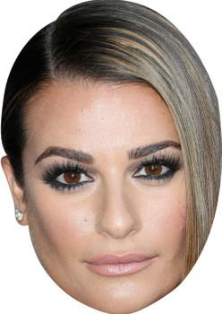 Lea Michele (2) Celebrity Face Mask