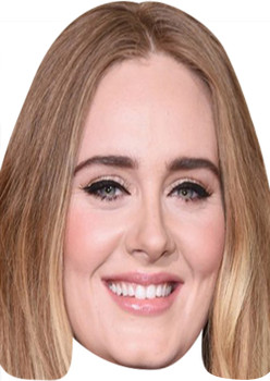Adele 2 MH 2018 Music Celebrity Face Mask