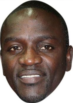Akon MH 2018 Music Celebrity Face Mask