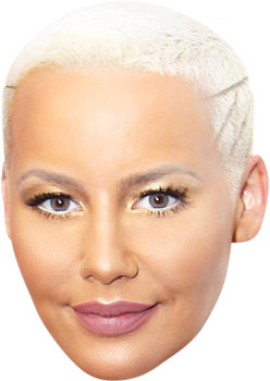 Amber Rose MH 2018 Music Celebrity Face Mask