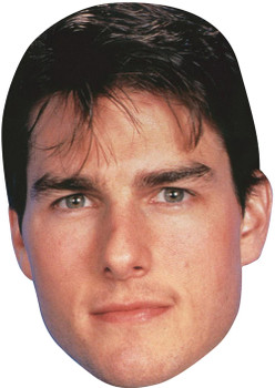 Tom Cruise 80's Celebrity Face Mask