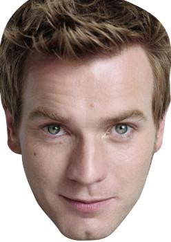 Young Ewan Mcgreggor Celebrity Face Mask