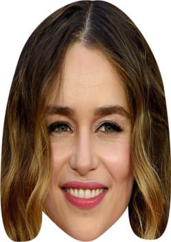 Emilia Clarke Music Celebrity Face Mask