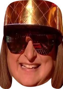 Honey G MH 2018 Music Celebrity Face Mask