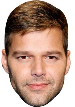 Ricky Martin 2018 Music Celebrity Face Mask