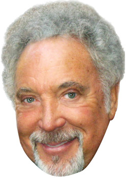 Tom Jones 2018 Music Celebrity Face Mask