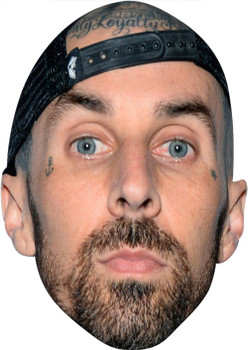 Travis Barker Blink MH Music Celebrity Face Mask