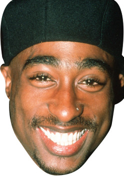 Tupac Shakur 2018 Music Celebrity Face Mask