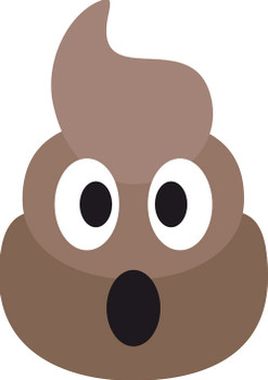 Poo Emoji Kids Celebrity Face Mask