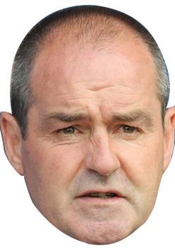 Clarke Cricket Sports Celebrity Face Mask