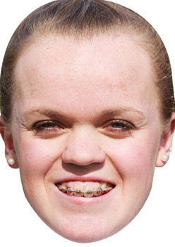 Ellie Simmonds (2) Sports Celebrity Face Mask