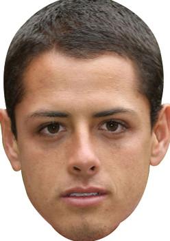 Hernandez Chicarito Sports Celebrity Face Mask
