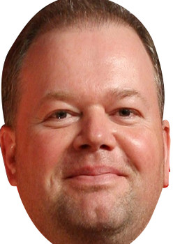 Raymond Van Barnevald 2018 Sports Celebrity Face Mask