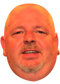 Robert Thornton Darts 2 Sports Celebrity Face Mask