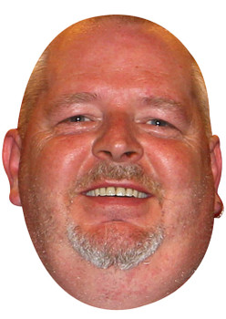 Robert Thornton Darts Sports Celebrity Face Mask