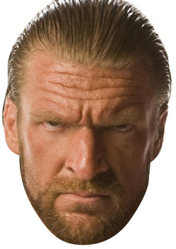 Triple H Wrestler 2018 Sports Celebrity Face Mask
