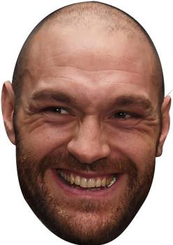 Tyson Fury Smiler 2018 Sports Celebrity Face Mask