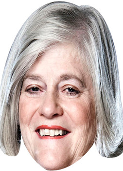 Ann Widecombe Tv Celebrity Face Mask