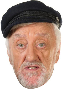 Bernard Cribbins2 Tv Celebrity Face Mask