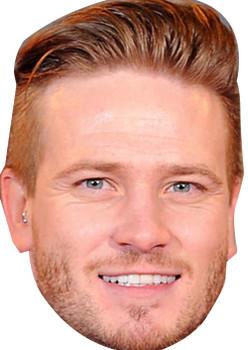 David Emmerdale Tv Celebrity Face Mask