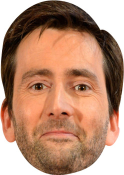David Tennant MH 2018 Tv Celebrity Face Mask